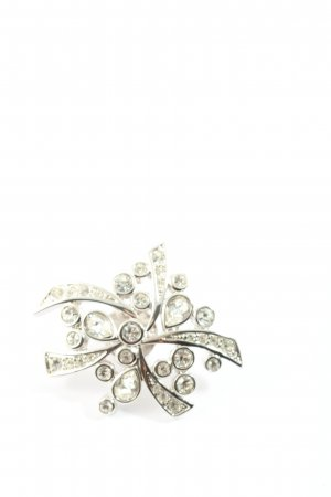Pierre Lang Broche color plata elegante