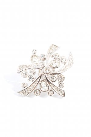 Pierre Lang Broche color plata look casual