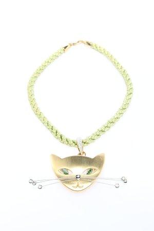 Pierre Lang Collier goldfarben-grün Casual-Look