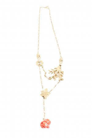 Pierre Lang Collier Necklace gold-colored-red elegant