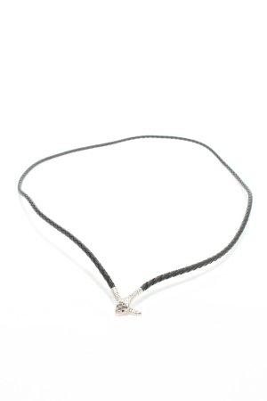Pierre Lang Halskette schwarz Casual-Look
