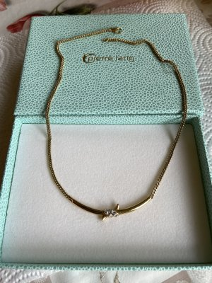 Pierre lang Halskette Np 159€ echt vergoldet