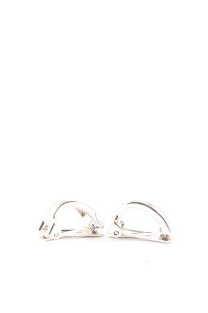 Pierre Lang Oorclips zilver zakelijke stijl