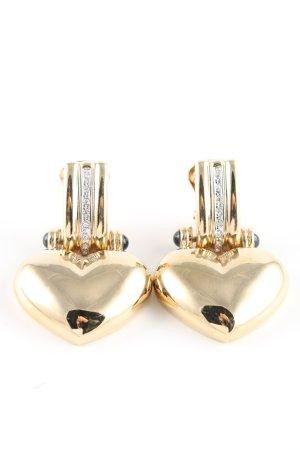 Pierre Lang Earclip gold-colored elegant