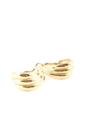 Pierre Lang Wiszące kolczyki złoto Elegancki