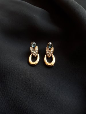 Pierre Lang Ear stud gold-colored-blue