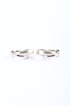 Pierre Lang Orecchino a clip argento elegante