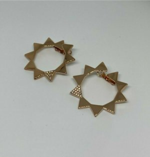 Pierre Lang Ear Hoops gold-colored