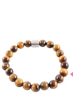 Pierre Lang Bracelet en perles brun-rose chair gradient de couleur
