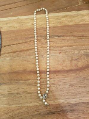 Pierre Lang Collana di perle oro-bianco sporco