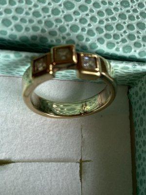 Pierre Lang Zdobiony pierścionek złoto