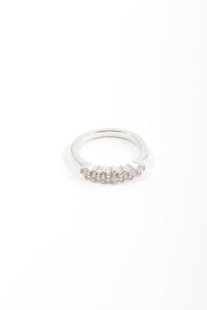 Pierre Lang Ring mit Zierstein silberfarben Elegant