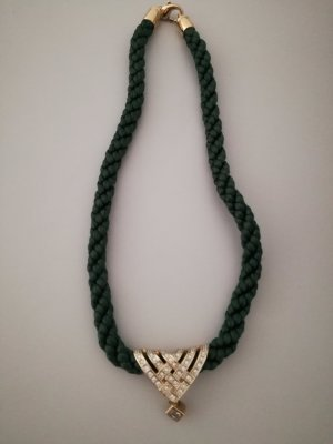 Pierre Lang Necklace dark green-gold-colored
