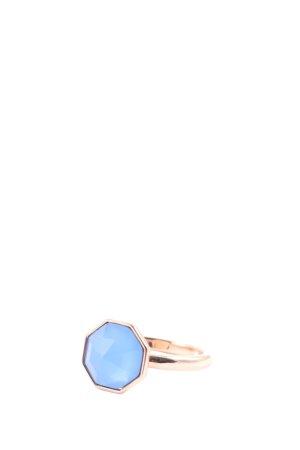 Pierre Lang Statementring goldfarben-blau Elegant