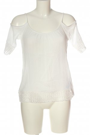 Pigalle Carmen Blouse white casual look