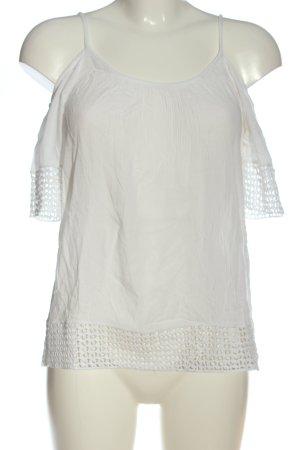 Pigalle Carmenshirt weiß Casual-Look