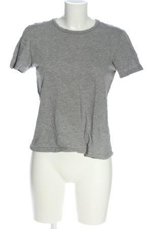 Pigalle T-Shirt hellgrau meliert Casual-Look