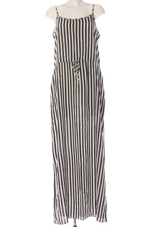 Pigalle Trägerkleid weiß-schwarz Streifenmuster Casual-Look