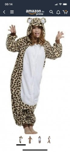 Pijama blanco-marrón