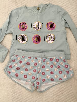 H&M Twin set in jersey multicolore