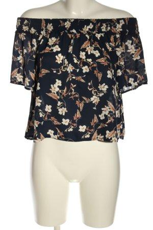 pika Carmen blouse bloemenprint elegant