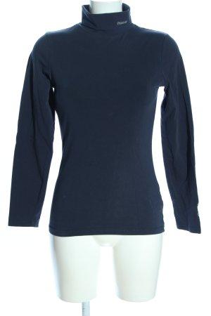 Pikeur Rollkragenshirt blau Casual-Look