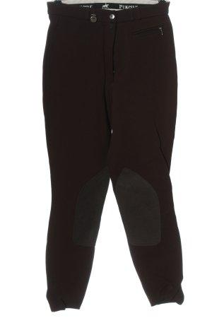 Pikeur Jersey Pants brown-light grey casual look