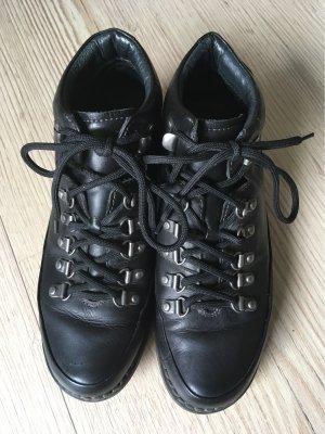 Pikolinos Gr 38 schwarz Leder