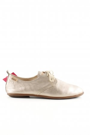 Pikolinos Lace Shoes gold-colored business style