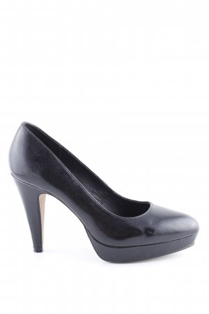 Pilar abril Plateau-Pumps schwarz Business-Look