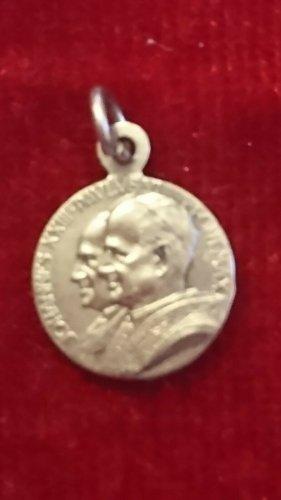 Antikschmuck Medalik srebrny