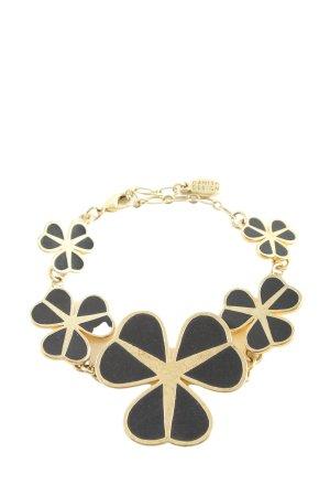 Pilgrim Armband goldfarben-schwarz Elegant