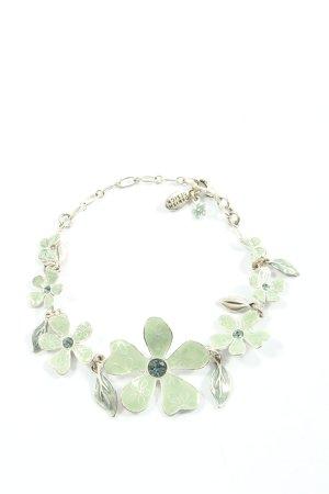 Pilgrim Bracelet argenté-turquoise style décontracté