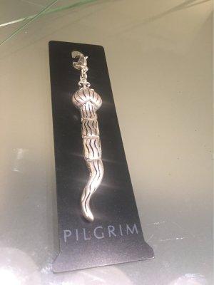 Pilgrim Charm silver-colored