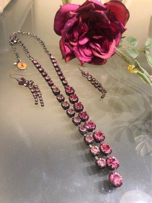 Pilgrim Colliers ras du cou rose-rose