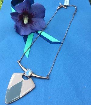 Pilgrim Collier Necklace rose-gold-coloured-grey