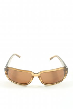 Pilgrim eckige Sonnenbrille braun Casual-Look