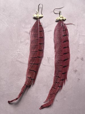 Pilgrim Feder Ohrhänger