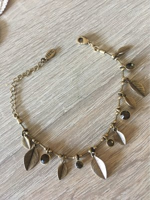 Pilgrim Anklet gold-colored
