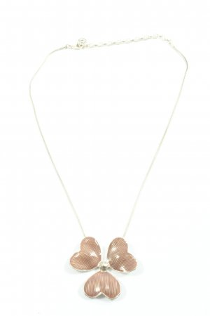 Pilgrim Halskette silberfarben-braun Casual-Look