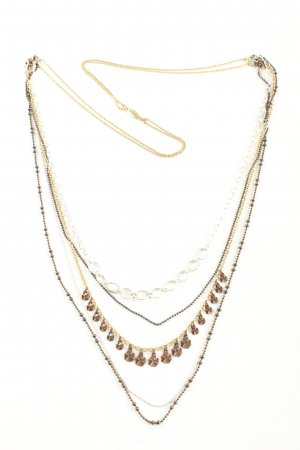 Pilgrim Necklace bronze-colored-silver-colored casual look