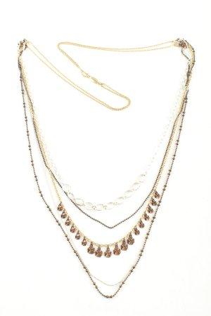 Pilgrim Halskette bronzefarben-silberfarben Casual-Look
