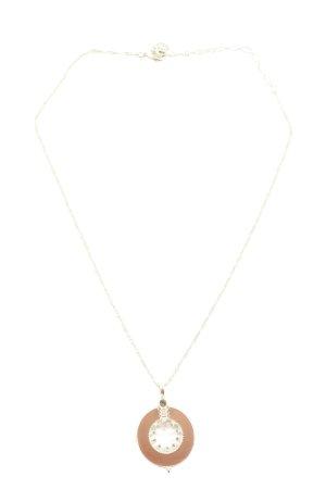 Pilgrim Halskette silberfarben-bronzefarben Casual-Look