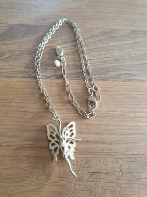 Pilgrim Halskette mit Elfe / Fee in gold