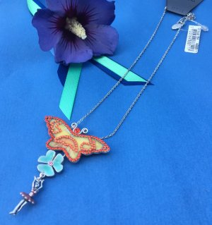 Pilgrim Collier incrusté de pierres multicolore