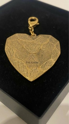 Pilgrim Ketten Herz Anhänger Gold