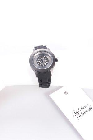 Pilgrim Uhr schwarzes Armband