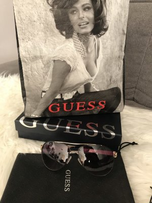 Guess Glasses gold-colored