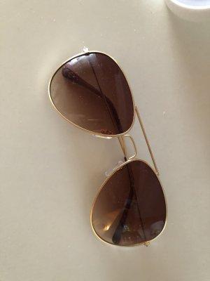 Pilotenbril brons