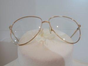 Zara Gafas color oro metal